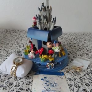 Disney castle and watch limited edition